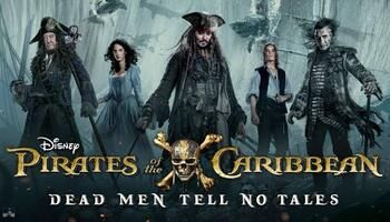 Pirates of the Caribbean: Dead Men Tell No Tales (2017) BluRay Dual Audio 480p-720p