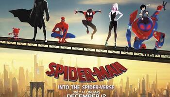 Spider Man Into the Spider Verse (2018) Dual Audio BluRay 480p-720p