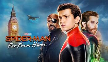 Spider Man Far from Home (2019) Dual Audio BluRay 480p-720p