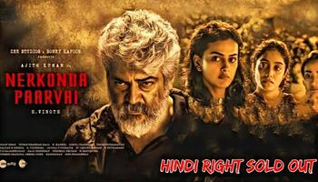 Nerkonda Paarvai (2019) Hindi Dubbed 480p, 720p
