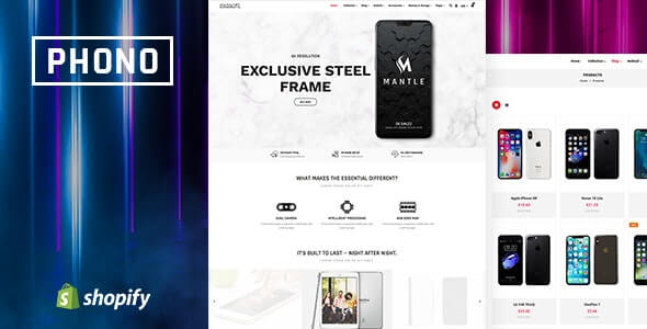 Phono v1.0 - Online Mobile Store and Phone Shop Shopify Theme