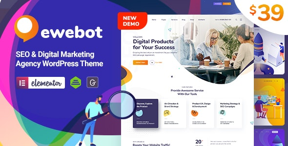 EWEBOT V2.3.4 - SEO Marketing & Digital Agency