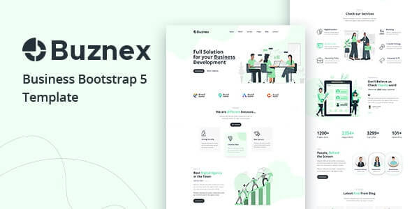Buznex v1.0 - Corporate Business Bootstrap5 Template
