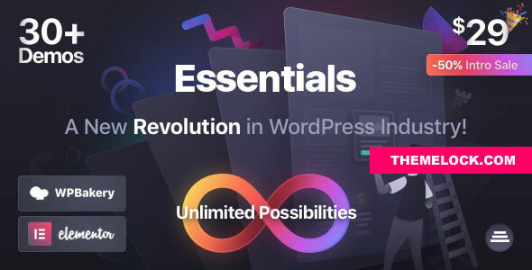 Essentials v1.2.10 - Multipurpose WordPress Theme