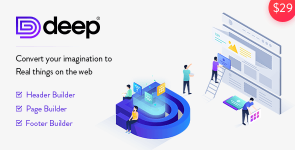 Deep v4.4.0 - Creative Multi-Purpose WordPress Theme