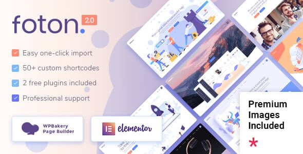 Foton v2.1.1 - A Multi-concept Software Landing Theme