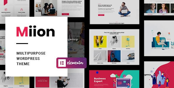 Miion v1.2.1 - Multi-Purpose WordPress Theme