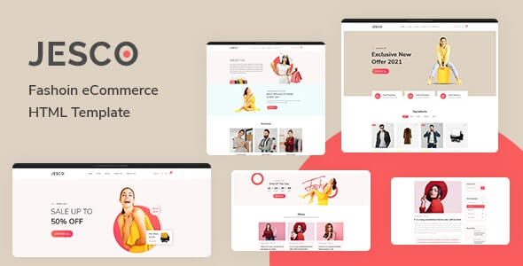 Jesco v1.0 - Fashion eCommerce HTML Template