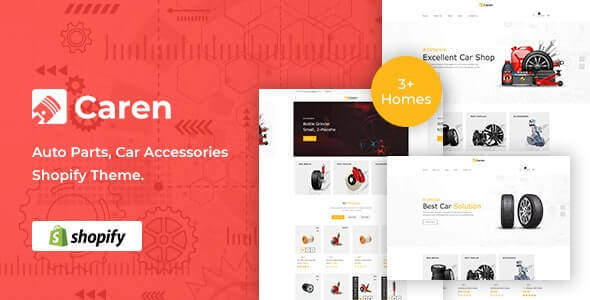 Caren v1.0.0 - Auto Parts, Car Accessories Shopify Theme