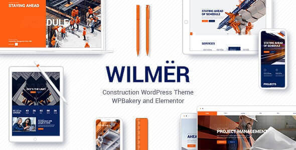 Wilmër v2.4.1 - Construction Theme