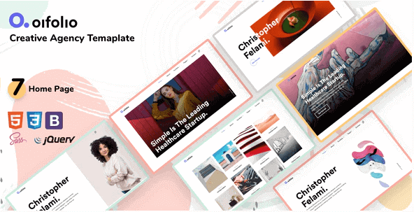 OIFOLIO V1.0 - Creative Agency Bootstrap Template