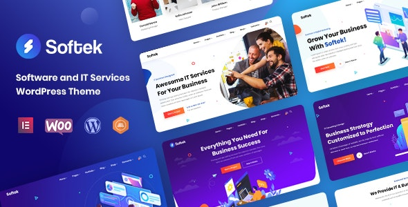 SOFTEK V1.2.0 - Software & IT Solutions WordPress Theme