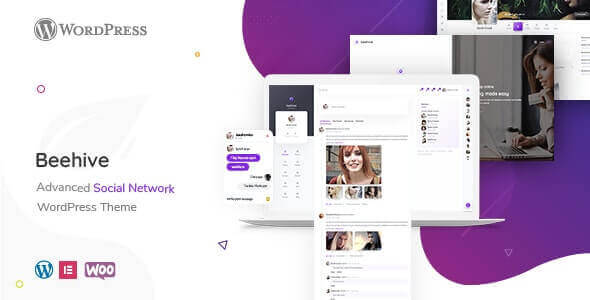 BEEHIVE V1.4.0 - Social Network WordPress Theme