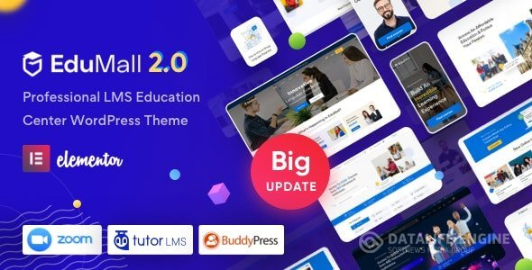 EduMall v2.7.3 - Professional LMS Education Center WordPress Theme
