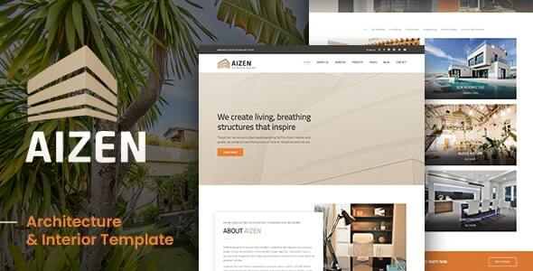 AIZEN v1.0 - Architecture & Interior Template