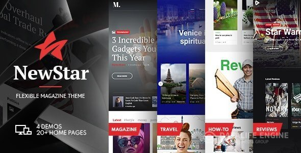 NewStar v1.3.0 - Magazine & News WordPress Theme