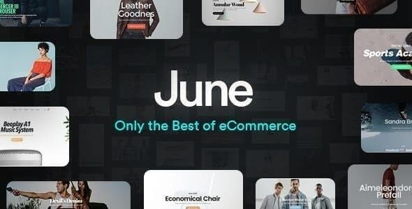 June v1.8.7 - WooCommerce Theme