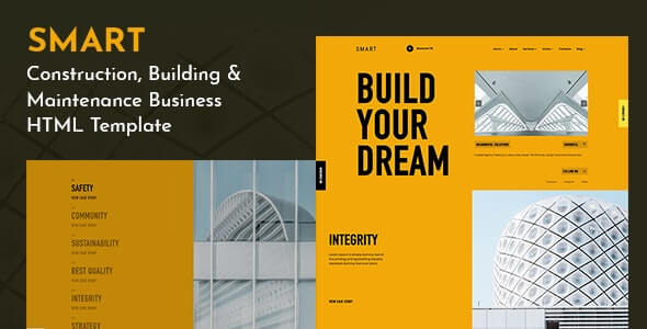 SMART v1.0 - Creative Corporate Agency Template