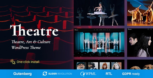 THEATER V1.2.0 - Concert & Art Event Entertainment Theme