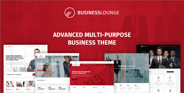 Business Lounge v1.9.6 - Multi-Purpose Business Theme