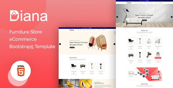 Diana v1.0 - Furniture Store eCommerce Template