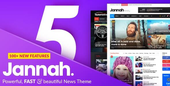 Jannah News v5.4.3 - Newspaper Magazine News AMP BuddyPress