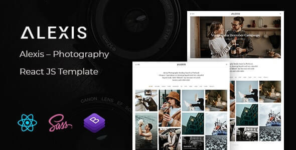 Alexis v1.0 - Photography React JS Template