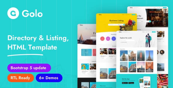 Golo v1.0.4 - Directory Listing HTML Template