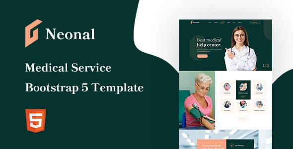 Neonal v1.0 - Medical Service Bootstrap 5 Template