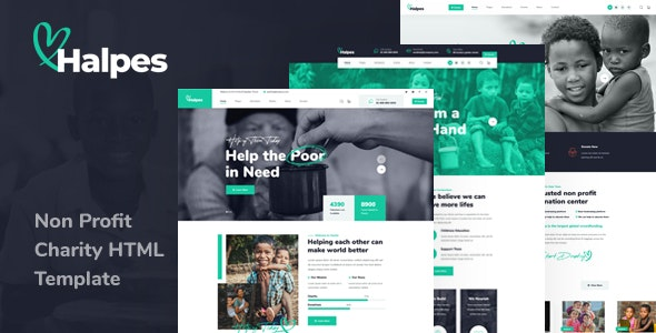 Halpes v1.0 - Non Profit Charity HTML Template
