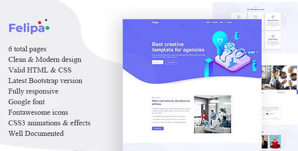 Felipa v1.0 - Agency Template