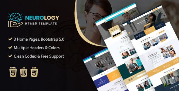Neurology v1.0 - Psychology & Counseling HTML Template
