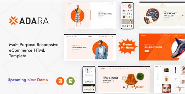 Adara v1.0 - Modern & Multipurpose eCommerce Template