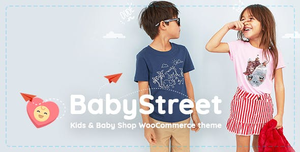 BabyStreet v1.5.2 - WooCommerce Theme for Kids Stores and Baby Shops Clothes and Toys
