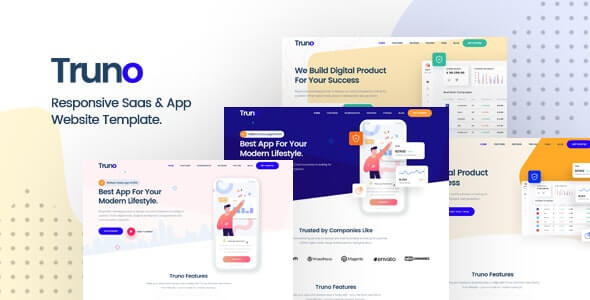Truno v1.0 - Multipurpose HTML5 Template for Saas and Startup Agency