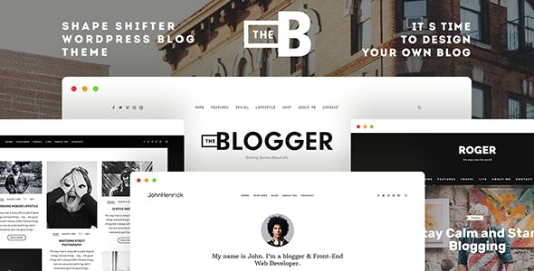 TheBlogger v2.1.2 - A WordPress Blogging Theme