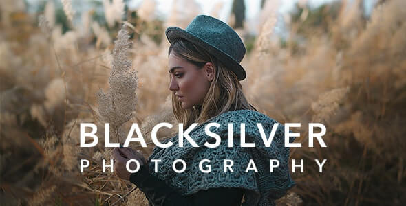 Blacksilver v8.6.1 - Photography Theme for WordPress