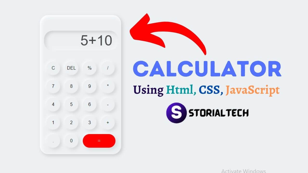 How to make a calculator using html css and javascript in 2021